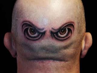 tattoo eye head