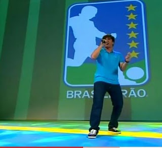Marcelo Adnet no Prêmio Craque do Brasileirão 2010
