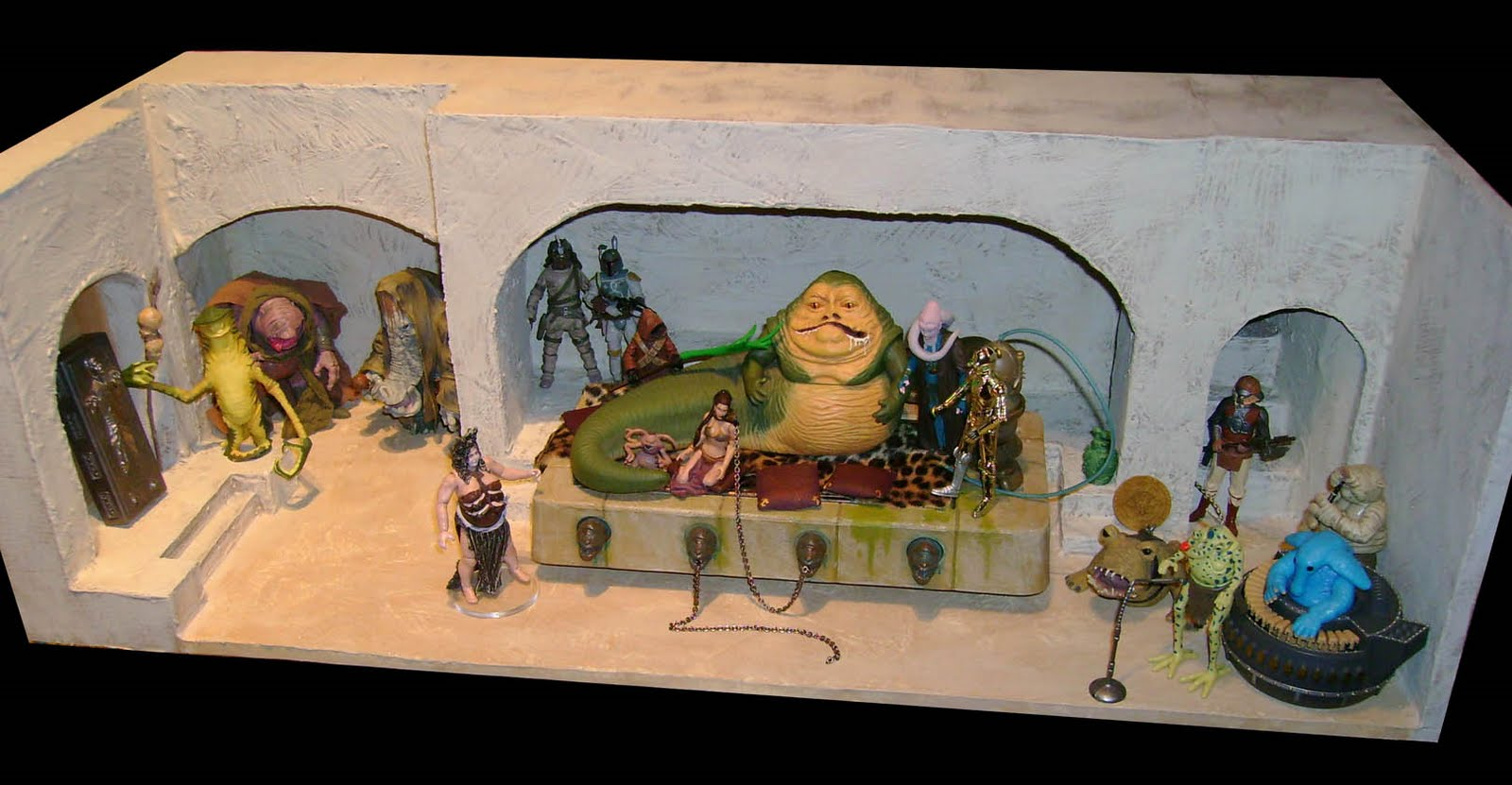 Jackoftradze Custom Star Wars Action Figures Jabba S