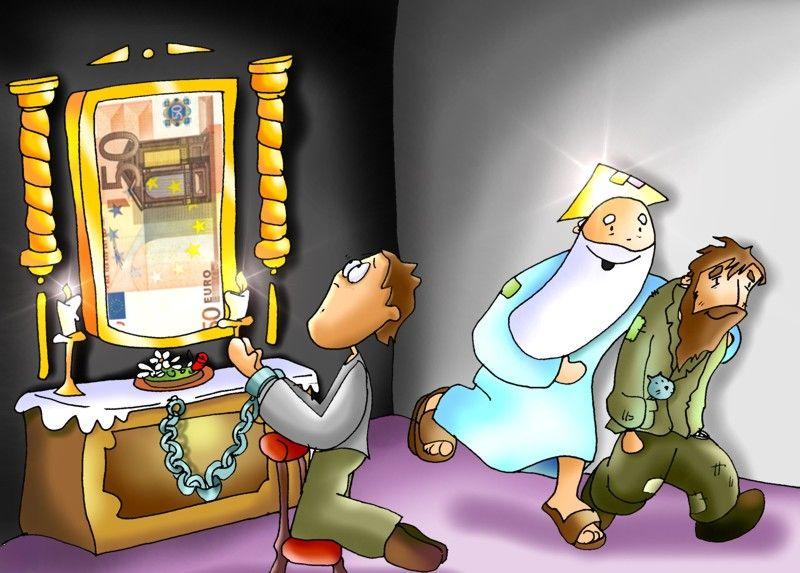 Jesús  y las riquezas Dios_dinero