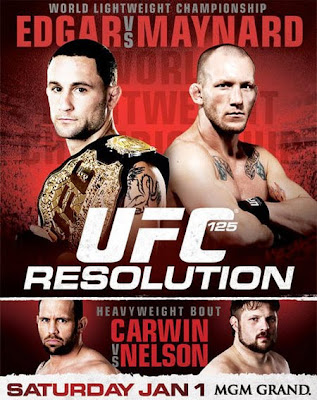 Lançamentos 2012 Downloads UFC 125 Fight Card Completo HDTV 2011