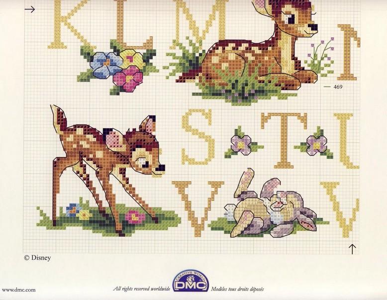 PLANETA PONTO CRUZ 2: Alfabeto Bambi