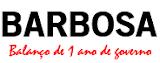 Barbosa - Balanço de 1 ano de governo