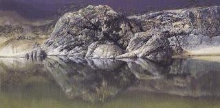 Serem,, inilah danau yang memiliki penampakan alam sangat aneh