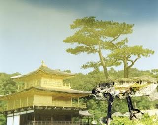 Kinkaku-ji. Foto invertida de Pablo