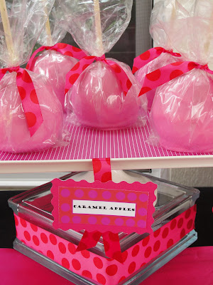 bunch creations sugar bunch pink red baby shower dessert buffet