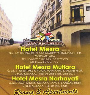 Hotel Mesra Melaka