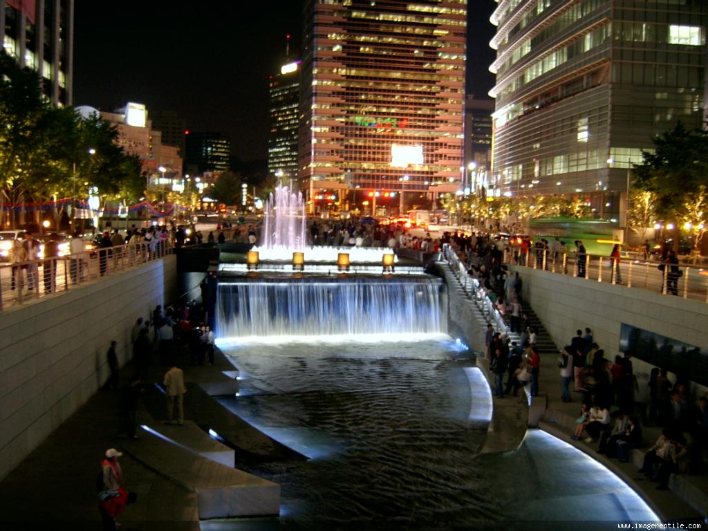 Peta Seoul, Korea Selatan