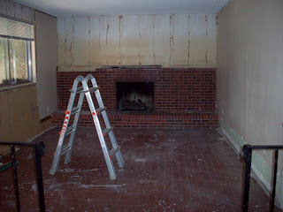 How to remove brick fireplace room to grow removing a brick fireplace