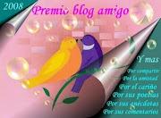 Premio al blog amigo