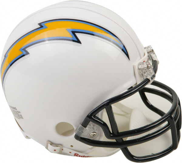 San Diego Chargers Helmets: Live From Lewisville: 01/01/2011