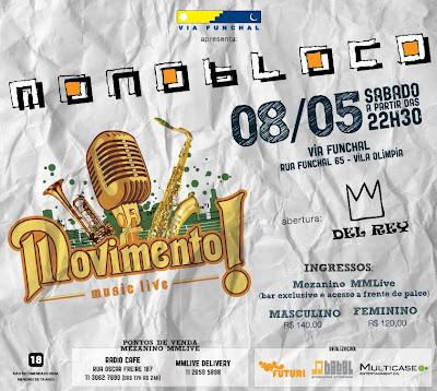 Show Monobloco 10 - Via Funchal - DJ Lenny