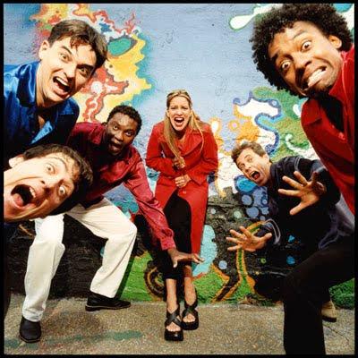 A banda Sambasonics e sua antiga formação com Tininha