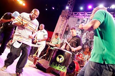 AfroReggae na inauguração do Centro Cultural Waly Salomão. Foto: Christian Rodrigues