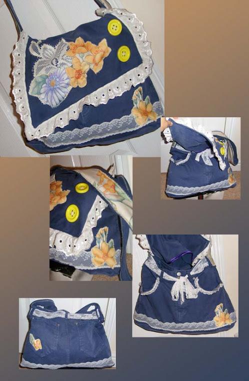 Jeans= Shoulder Bag!