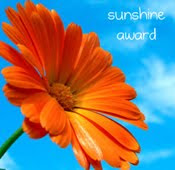 Sunshine award for my blog!!