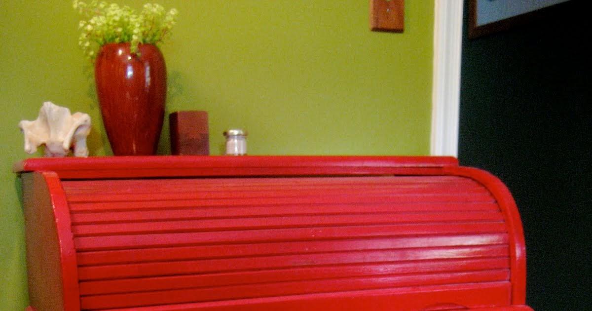 Small Red Wood Paint