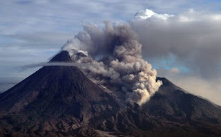 Mount Merapi eruption