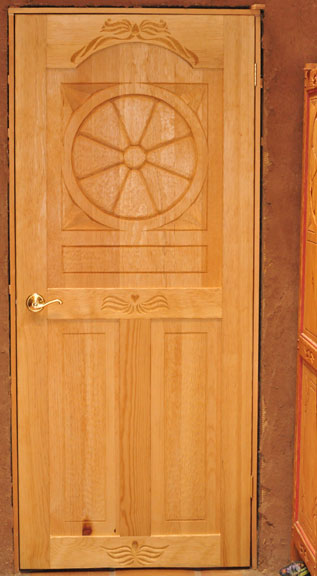 Terry Wolff's Wood Carving Information: LIVING ROOM DOOR AND ...