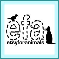 Proud Member Of EFA - Etsy For Animals