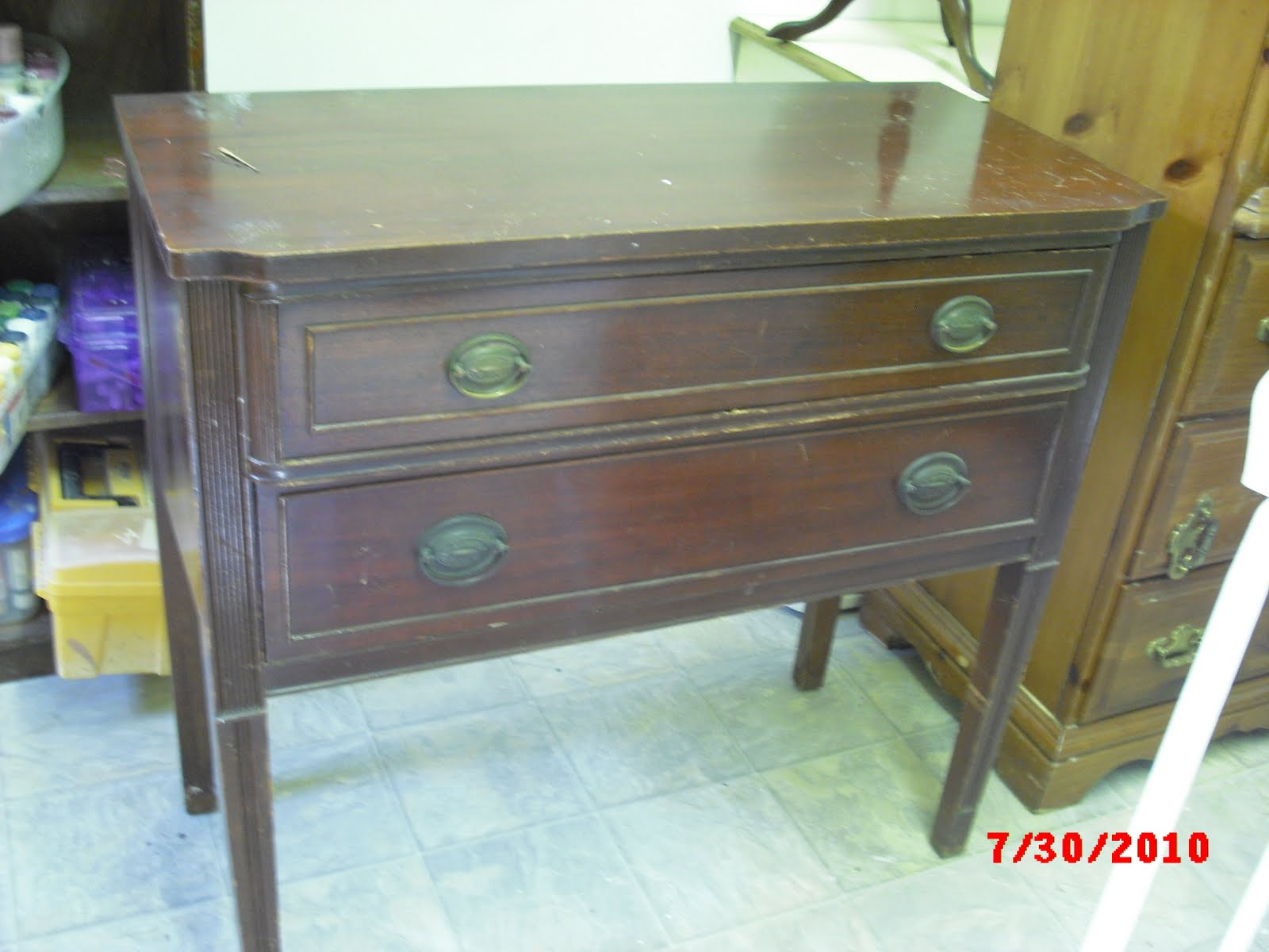 Hand Painted Buffet/sideboard