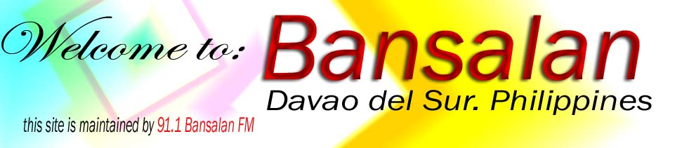 News From Bansalan,Philippines