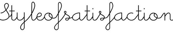 Styleofsatisfaction : blog mode, blog photo, petits potins.