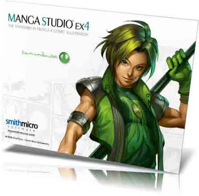 Manga Studio EX4  Per Windows