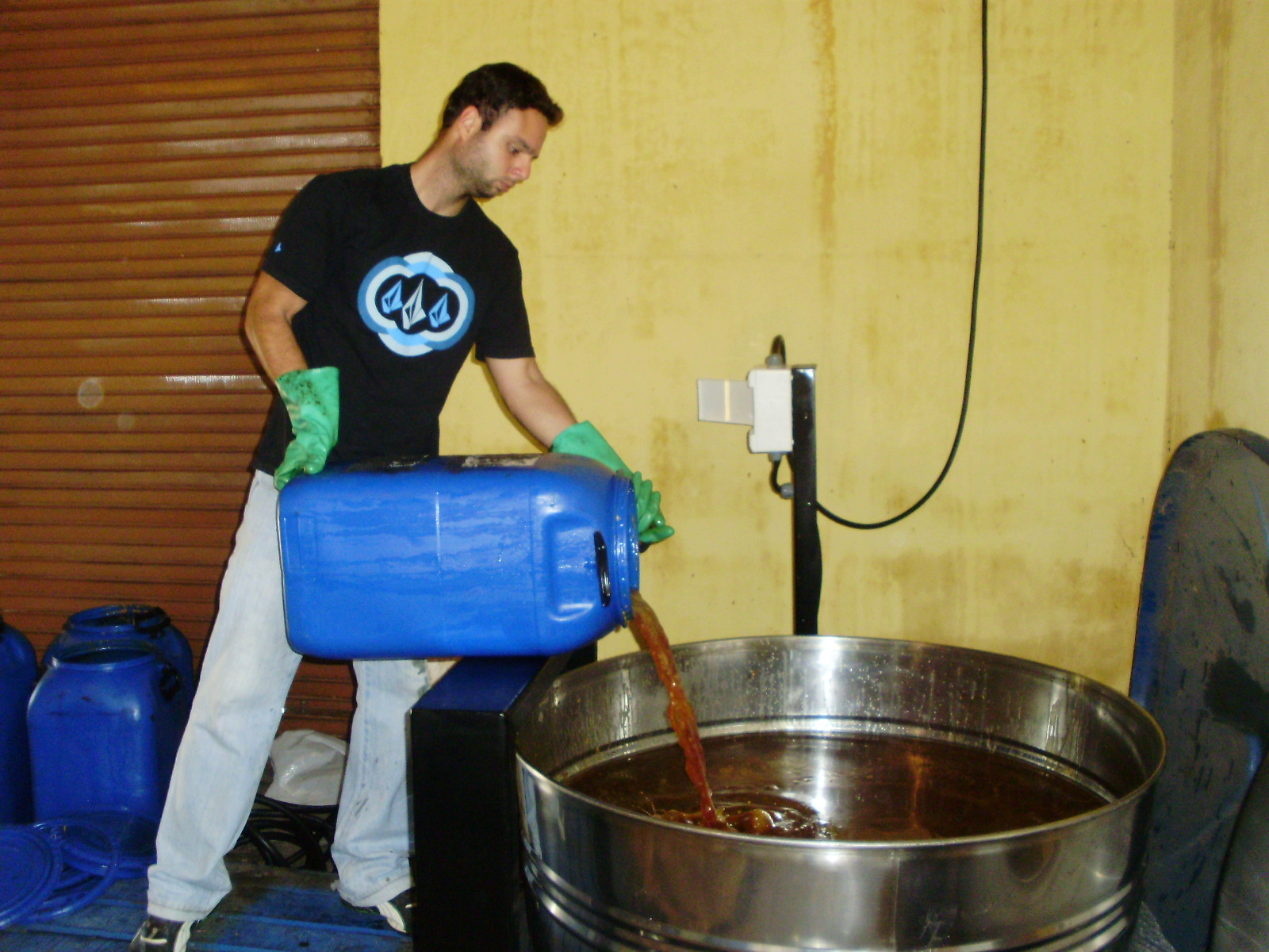 de mini usina de purificação de oleo de cozinha em itajubá #1E5AAD 1600 1200