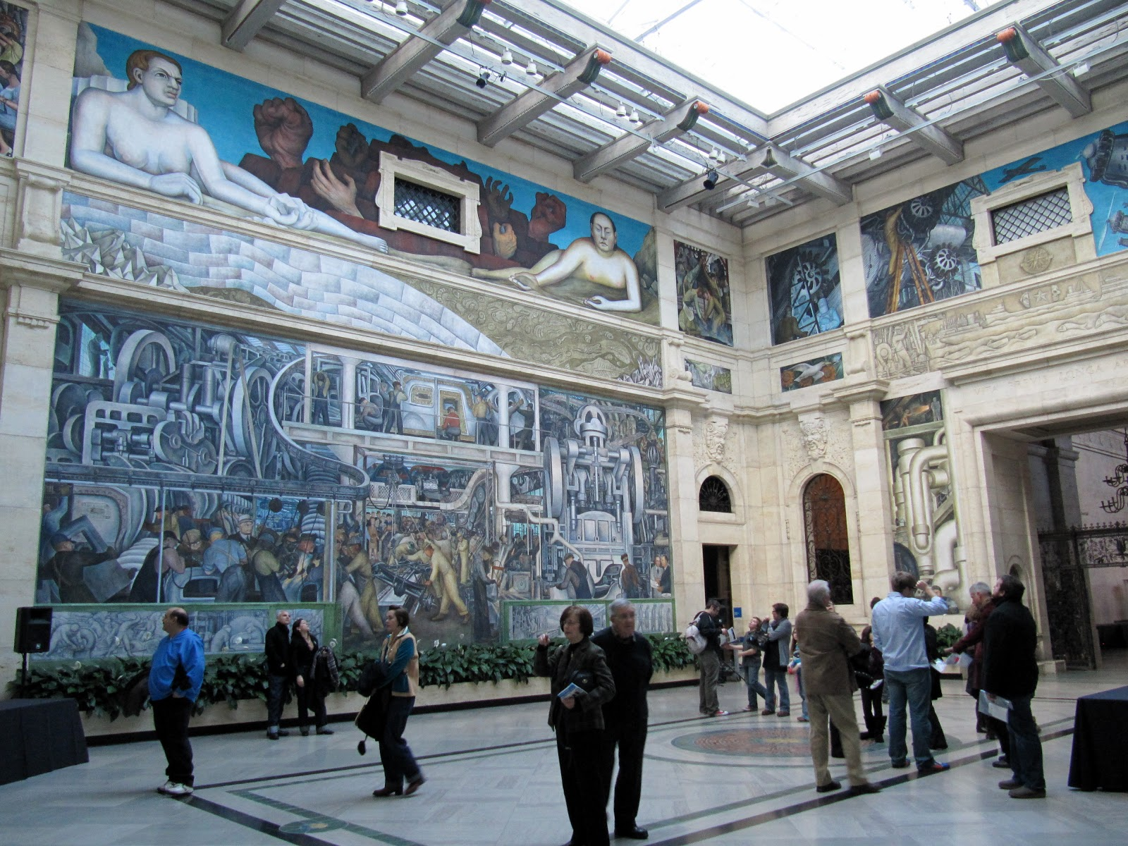 Diego rivera industry murals the image for Diego rivera mural dia