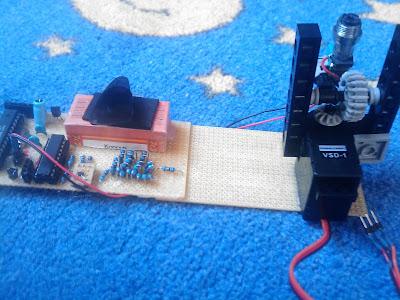 Laser Entfernungsmesser Triangulation : Basteln mit dr kned lasertriangulation der sensor