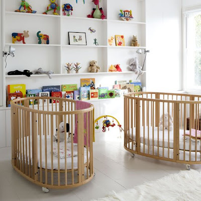 Cribs For Twins. -Room-for-Twins | ArhDecor