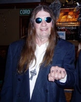 Me as Ozzy on Halloween