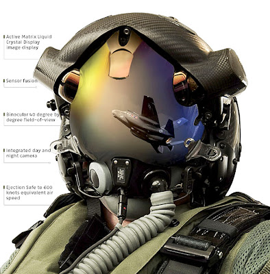 The helmets that go with the F35 cost 400000 and allow