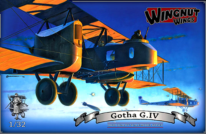 GOTHA HEAVY BOMBER THUNDERS OVER FROM WINGNUT WINGS