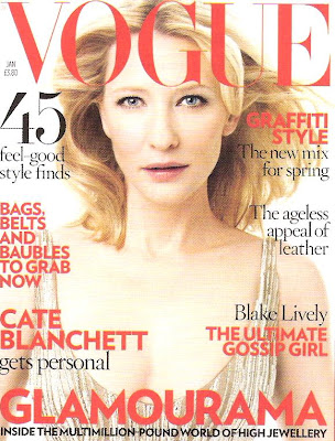 Cover… Vogue UK January 09
