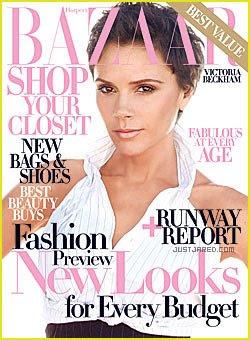 Victoria Beckham para Harpers Bazaar