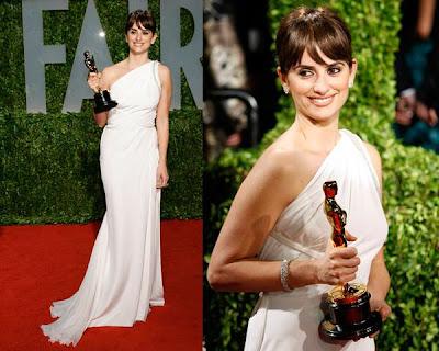 Oscars 2009 – Penelope Cruz de Atelier Versace SS09