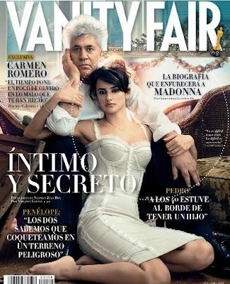 Pé y Almodóvar portada del Vanity Fair español