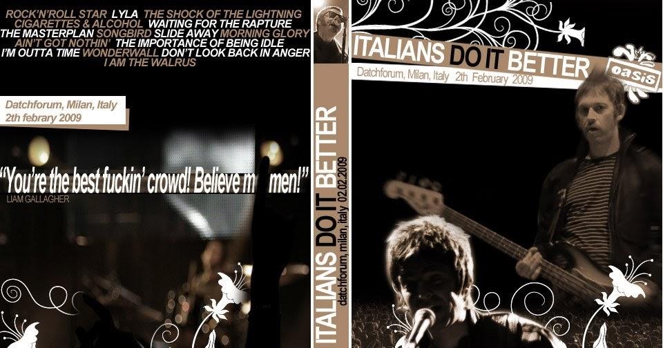 Lyric oasis lyrics masterplan : oasisblues: SNOWASIS - Oasis gig in Milan: surprisingly Liam great ...
