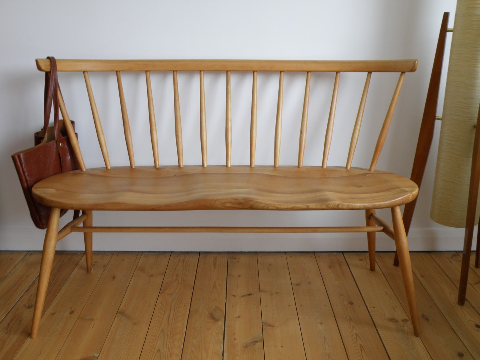 Antikmodern The Shop Ercol Love Seat Bench