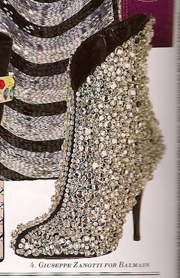 guiseppe zanotti for balmain boots