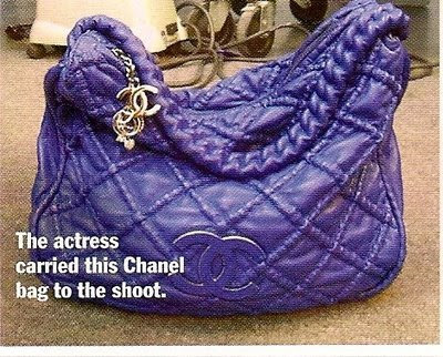 kate beckinsale chanel bag