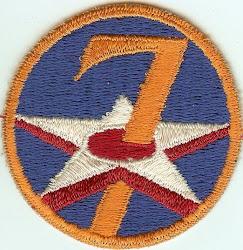 7th AAF Insignia