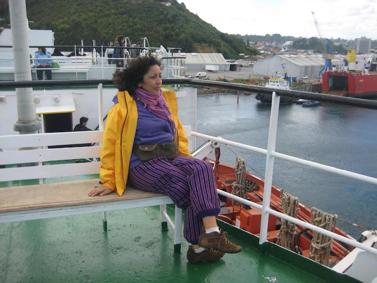 TERE en el ferry Puerto Edén