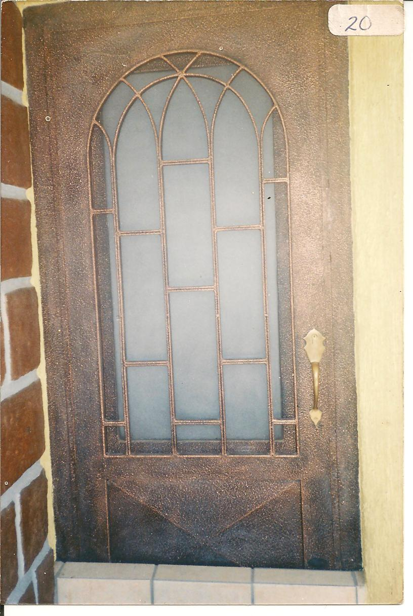 Herreria moderna puerta for Puertas diferentes
