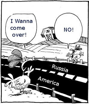 Russia Says, American Chicken Go Home!