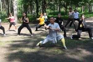 Russian Video: Shaolin Kung Fu in Russia!