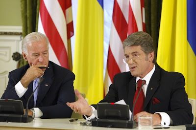 Why is U.S. Vice-President Joseph Biden in Georgia and Ukraine?