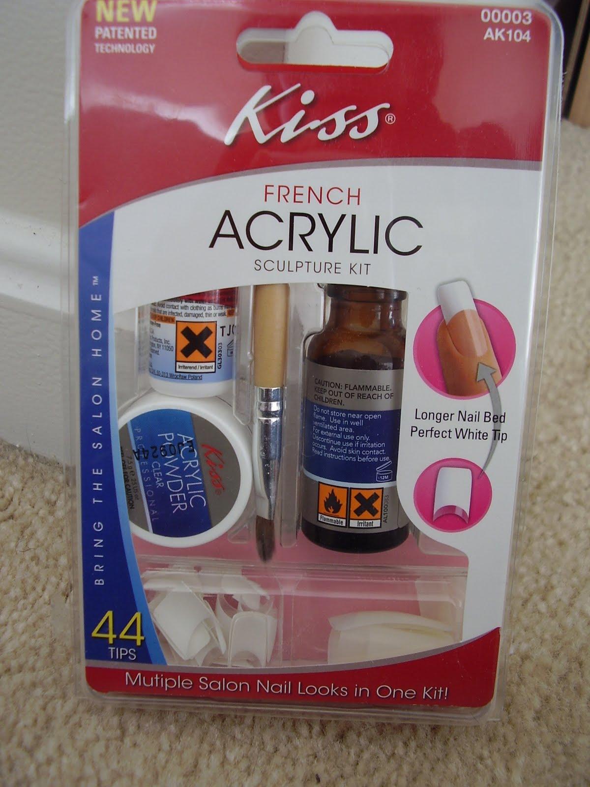 Acrylic nail kit cvs home decoration live for Acrylic nails walmart salon